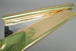 X047QX Metallic paper roll gold 0,70x50m