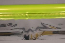 X053QX Green metallic paper roll 70cm x 50m