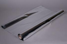 X056QX Metallic paper roll silver 0,70x50m