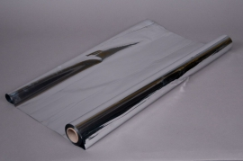 X056QX Rouleau de papier métal argent 0,70x50m
