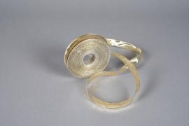 X058UN Reinforced metallic ribbon gold 16mmx20m