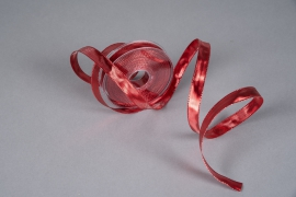 X059UN Reinforced metallic ribbon red 16mmx20m