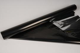 X068QX Rouleau de papier métal noir et argent 70cm x 50m