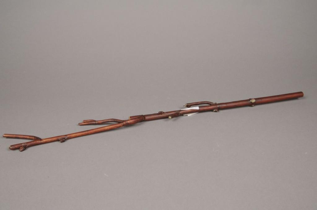 x077tr Branche de manzanita artificiel marron H64cm