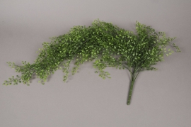 x078ee Artificial pick of jasmine green leaves L80cm