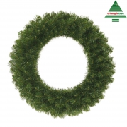 X080DQ Couronne en sapin artificiel D60cm