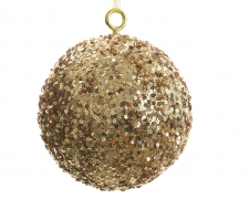 X080KI Gold sequin ball D40cm
