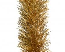 X083KI Guirlande noël or D10cm L270cm