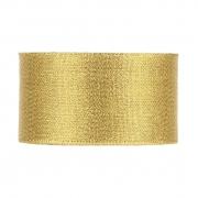 X084UN Set of 5 gold satin ribbons 50mm x 90m