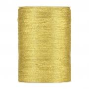 X085UN Gold satin ribbon 3mm x 500m