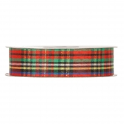 X086UN Multicolor Scottish ribbon 40mm x 45m