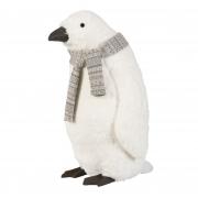 X087DQ Pingouin blanc à poser H70cm