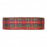 X087UN Red Scottish ribbon 40mm x 45m