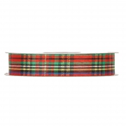 X088UN Multicolor Scottish ribbon 25mm x 45m