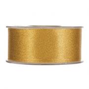 X095UN Gold satin ribbon 40mm x 25m
