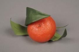 x097fd Artificial clementine D7cm