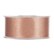 X101UN Peach satin ribbon 40mm x 25m