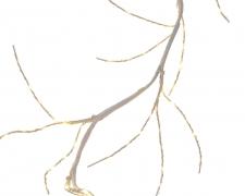 X104KI Guirlande de bouleau LED blanc chaud H150cm