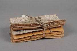 x104wg Pack of 10 natural birch barks 20x10cm