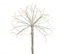 X107KI Branche boule LED blanc chaud H78cm