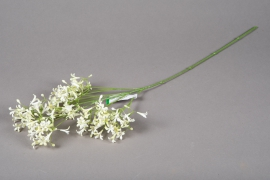 x109ee Artificial white saxifrage H65cm