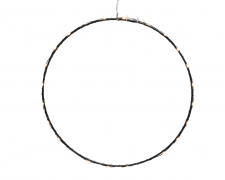 X111KI Cercle LED blanc chaud D50cm