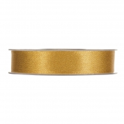 X111UN Gold satin ribbon 15mm x 25m