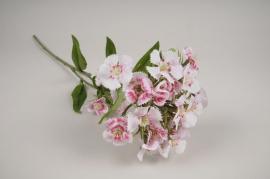 x116am Artificial dianthus pink H60cm