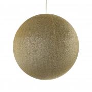 X121DQ Glittery gold ball D60cm