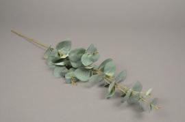 x124ee Branche d'eucalyptus artificiel H88cm
