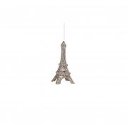 X129DQ Tour Eiffel en résine or H5,5cm