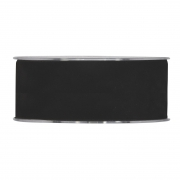 X133UN Black velvet ribbon 40mm x 7m
