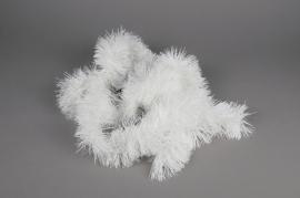 X135KI Guirlande blanche D10cm H270cm