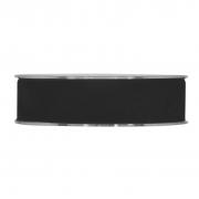 X143UN Ruban de velours noir 25mm x 7m