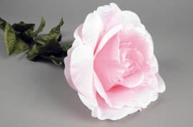 x150el Pink artificial giant rose H110cm