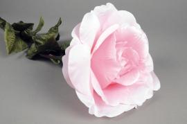 x150el Rose géante artificiel rose H110cm