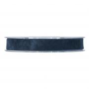 X156UN Blue velvet ribbon 15mm x 7m