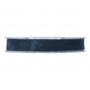 X156UN Blue velvet ribbon 15mm x 7m