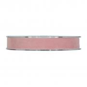 X157UN Nude velvet ribbon 15mm x 7m