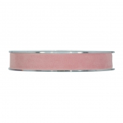 X157UN Nude velvet ribbon 15mm x 7m