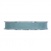 X160UN sky blue velvet ribbon 15mm x 7m
