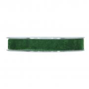 X161UN Forest green velvet ribbon 15mm x 7m