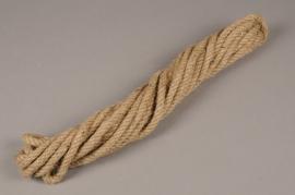 x166wg Natural jute rope 1cm x 8.5m