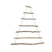 X181KI Nartural wooden Christmas tree H50cm