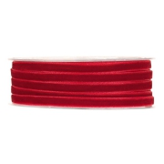 X188UN Red velvet ribbon 6mm x 30m