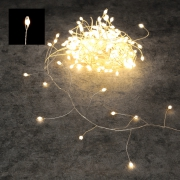X194DQ LED twinkle light green 10m