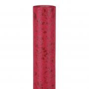 X194UN Bordeaux imitation leather table runner 30m x 5m