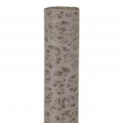 X195UN Grey imitation leather table runner 30m x 5m