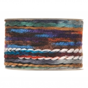 X197UN Ruban de laine multicolore 63mm x 5m