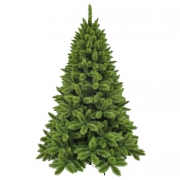 X200DQ Green artificial Christmas tree D165cm H260cm